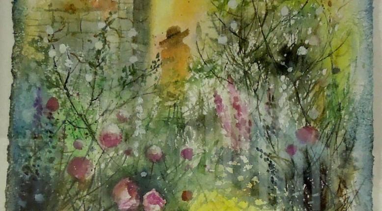 Akvarell-handgjort papper - Petra Sahlin
